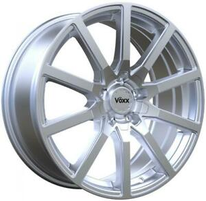 Pulse P65 16x7 40 Bright Silver Wheel 5x110 5x115 Qty 4