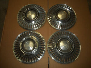 1968 68 Chrysler Hubcap Rim Wheel Cover Hub Cap 15 Oem Used 325 Disc Brake Set