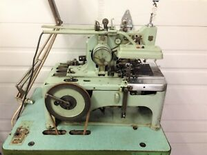 Reece 101 Bulldog 3 4 Keyhole Buttonhole Chainstitch Industrial Sewing Machine