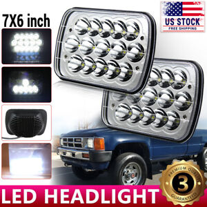 Brightest 5x7 7x6 Inch Rectangle Led Headlight Headlamp For Toyota Pickup Truck