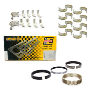 Sbc Chevy 350 Small Block 5 7l Re Ring Kit 1980 1985 Rings Bearings Gaskets
