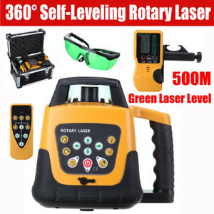 Self Leveling Laser Level Green Beam Rotary Rotating Levelling Automatic W Case