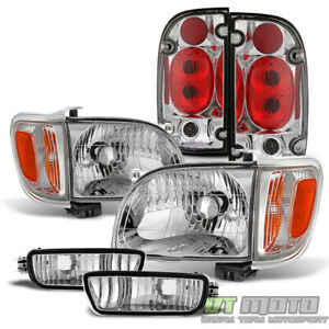 For 01 04 Toyota Tacoma Pickup Headlights tail Lamps corner signal Bumper Lights