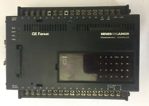 Ge Fanuc Ic609sjr120c Programmable Controller 24vdc In relay Out 115 230vac