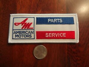 Amc American Motors Amx Javelin Rambler Rebel Gremlin Parts And Service Patch