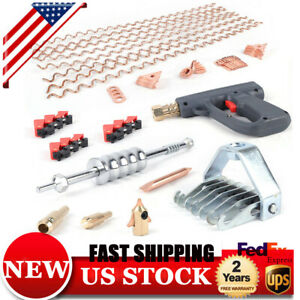 69 car Body Spot Repair Dent Puller Welder Kit Stud Welding Hammer Gun Wavy Wire