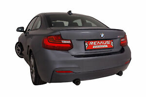 Remus Cat Back Sport Exhaust For Bmw F22 M235i Street Race Tips