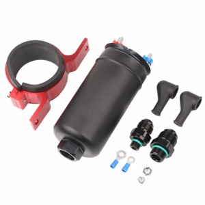 380lph Electric High Pressure Inline External Fuel Pump Kit Replace 0580254044