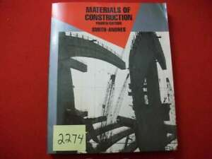Materials Of Construction By Smith andres 1988 Mcgraw hill Very Informative