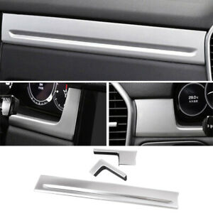 Car Abs Dashboard Center Console Cover Trim Lhd Fit For Porsche Cayenne 2018 19