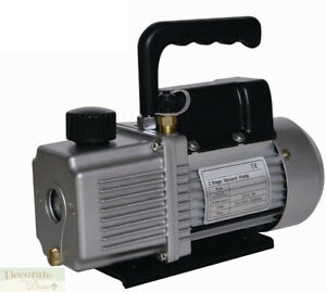 Vacuum Pump Air Conditioner Refrigeration 6 0 Cfm 2 Stage 1 2hp Hvac r 110v New