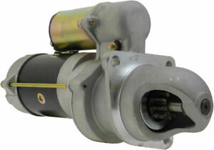 New Starter Delco Remy 28mt 12v 10t Consolidated For Cummins Wet Clutch 6583