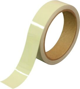 Glow In The Dark Tactical Tape Luminescent Military Phosphorescent Adhesive Roll