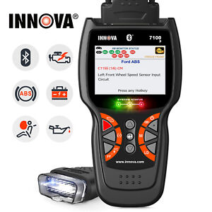 Innova Scanner Obdii Abs Srs Oil Battery Eninge Reset Car Diagnostic Scan Tools