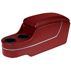 Tmi 25 7013 957 Mustang Center Console Pony Style Deluxe Red Without Factory Con