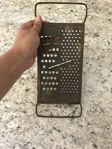 Vintage Grater Metal Farmhouse Primitive Decor Rustic Country Style