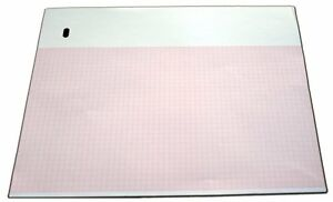 Ecg Paper For Marquette 9402 024 216mm X 280mm X 300 Sheets Z fold Pk 3