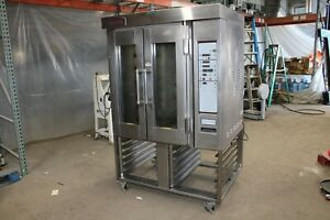 Hobart Ov300g Mini Rotating Rack Oven Natural Gas Bakery Convection 1 2 Rack
