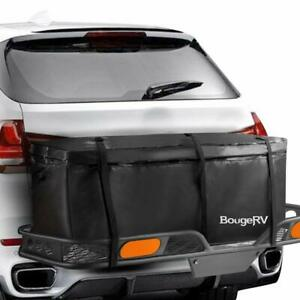12 Cu Ft Hitch Cargo Carrier Waterproof Bag 48 X 20 X 21 Hauler Luggage Travel