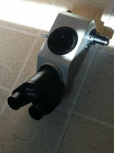 Nikon Teaching Dual Binocular Head Attachment Labophot Optiphot Microscope Bulb