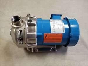 New Goulds Stainless Steel Pump 3 4 Hp 3 ph 60 Hz 208 230 460v 3450rpm
