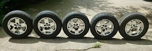 5x Very Nice Oem 2005 2007 Jeep Grand Cherokee Wheels 17 X 7 5 5ht52trmaa