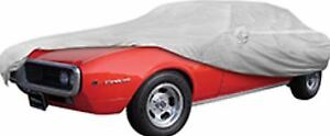 Oer Gray Softshield Cotton Flannel Car Cover 1967 Pontiac Firebird Chevy Camaro