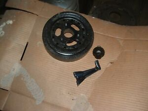 427 Ford Fe Original Harmonic Balancer W Pulley With Nos Pointer