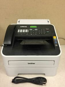 Brother Intellifax 2940 High Speed Laser Fax Machine No Toner Working Free Shipp