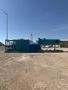 Oilfield Gas Buster And Trip Tank