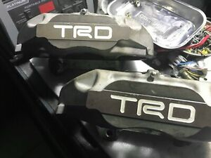 Trd Monoblock Supra Big Brake Kit
