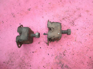 Willys Jeep Overland Super Hurricane L226 2 Front Motor Mounts 1950 S