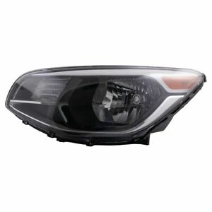 Halogen Headlight Lamp Assembly Driver Side Lh For Kia Soul New