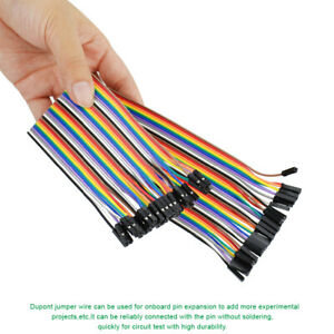 40pcs Dupont Connector Cable Jumper Wires Kit For Arduino Breadboard Circuit Set