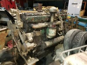 Huge Murphy 6 Cylinder Diesel Engine Mp21 From A Dragline Crane Old Iron