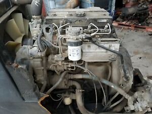 Perkins A4 Turbo Diesel Engine 4 Cylinder Mechanical From Sweeper 1004 4t