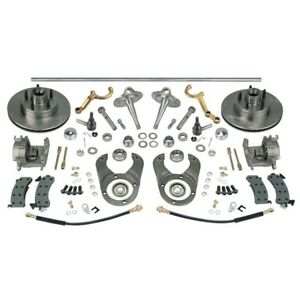 Plain Steering brake Kit spindles dropped Arms ford 48 Axle 5 On 4 5
