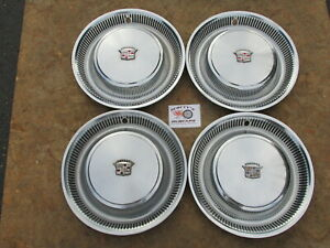 1974 78 Cadillac Deville Fleetwood 15 Wheel Covers Hubcaps Set Of 4