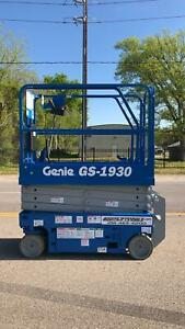 Genie 1930 Electric Scissor Lift refurbished Warranty Dealer Ie Jlg