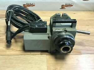 Nice Haas Ha5c Rotary 4th Axis 5c Collet Indexer Sigma Brushless