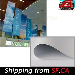 Heavy duty Blockout Double sided Printing Vinyl Banner 54 x165ft 18oz 13mil roll