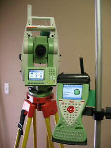 Leica Ts12 P 3 R400 Robotic Total Station Cs15 Rh16 For Surveying W 1m Warranty