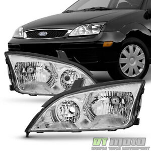 2005 2007 Ford Focus Zx4 St Headlights Headlamps Replacement 05 06 07 Left Right