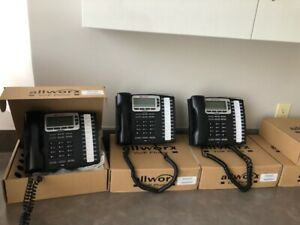 Allworx 320 Voip Phone System With 4 Phones 9212l