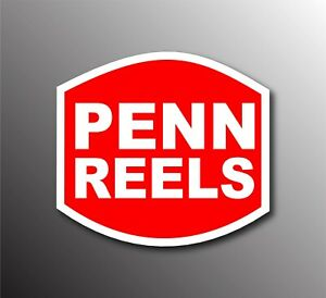 Penn Reels Decal Sticker 3m Usa Tackle Box Lure Fishing Truck Vehicle Window Car