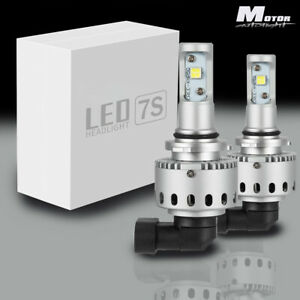 2x 9006 Hb4 Cree Led Headlight Bulb For Freightliner Columbia 96 17 Low Beam