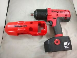 Snap On 18v Cordless Impact Ct6818 W Battery No Charger