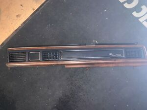Used 1988 Ford Crown Victoria Ltd Dash Trim Clock Bezel With Vents p11