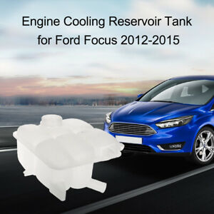 For Ford 2012 2015 Focus Engine Cooling Radiator Coolant Overflow Tank Reservoir