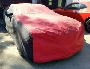Chevy Camaro Car Cover Stormproof Two Tones Red Black